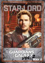 guardiani galassia 2 poster star-lord