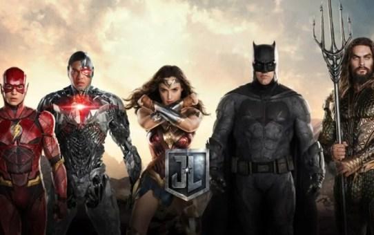 justice league nuovo poster italiano con banner