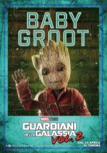 guardiani galassia 2 poster italiano groot