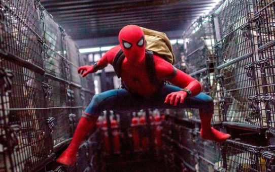 spider-man homecoming nuovo scatto entertainment weekly