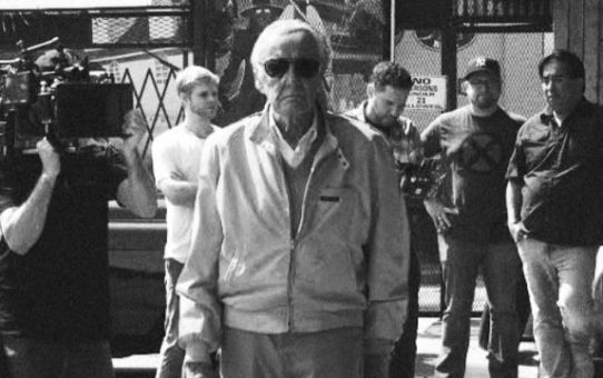 stan lee sul set di x-men gifted