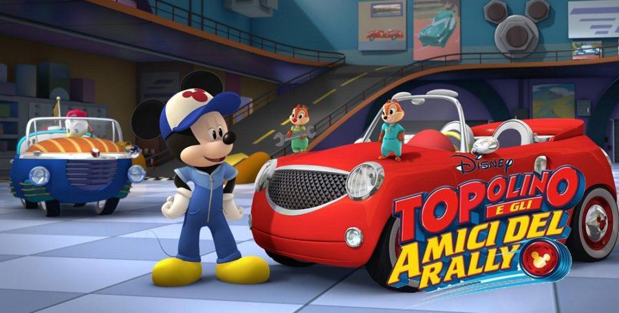 topolino e gli amici del rally ecco il trailer
