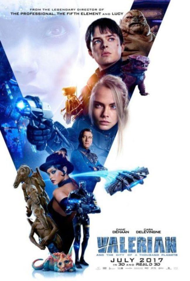 valerian film nuovo poster