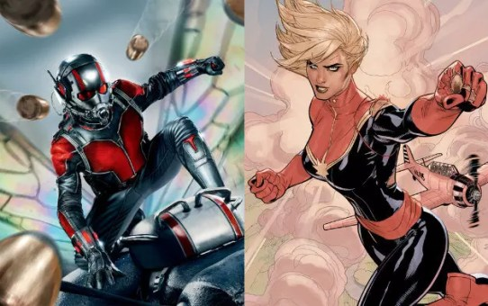captain marvel ant-man connessione