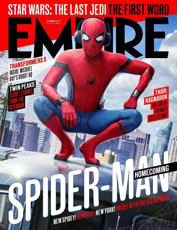 empire spider-man cover