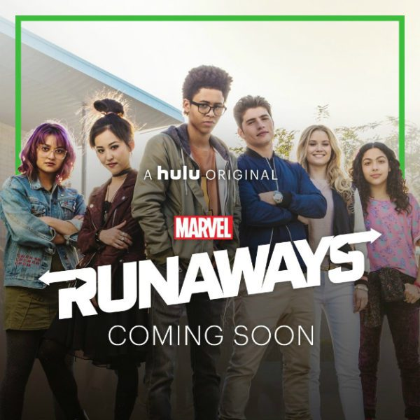 runaways primo poster ufficiale