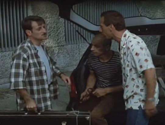 tre uomini e una gamba sondaggio