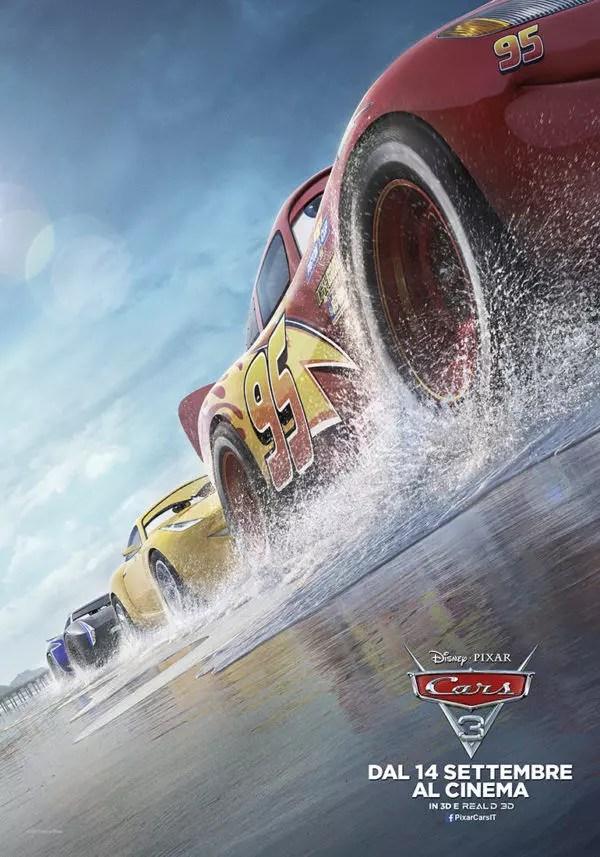 cars 3 poster italiana