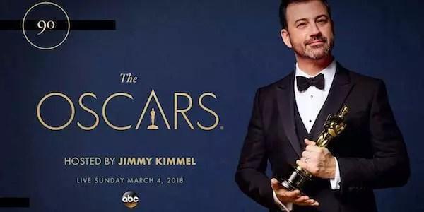 Oscar 2018: Jimmy Kimmel condurrà la 90ª edizione dei premi cinematografici