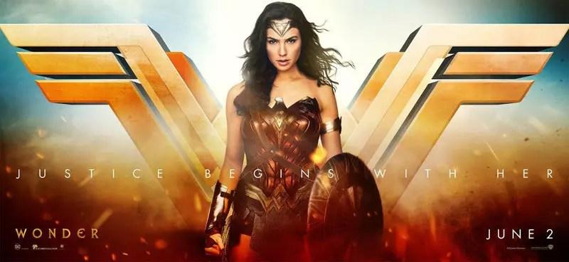 wonder woman banner justice league