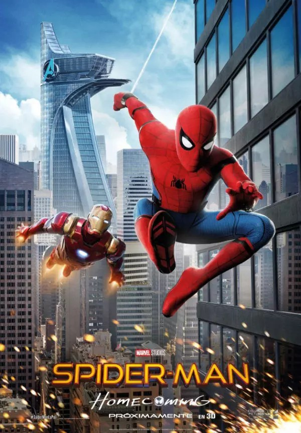 spider-man homecoming poster new