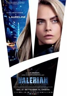 valerian sci-fi poster italiano delevingne