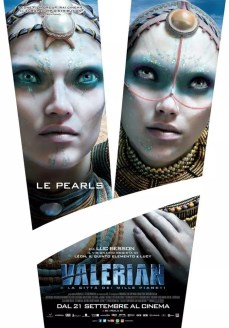valerian sci-fi poster italiano