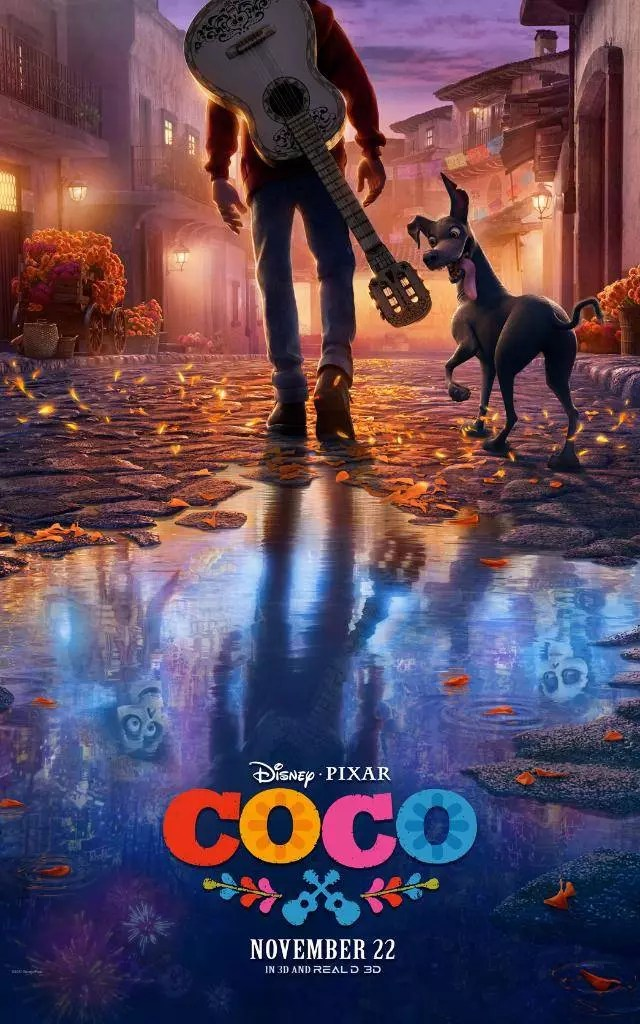 coco cartoon poster