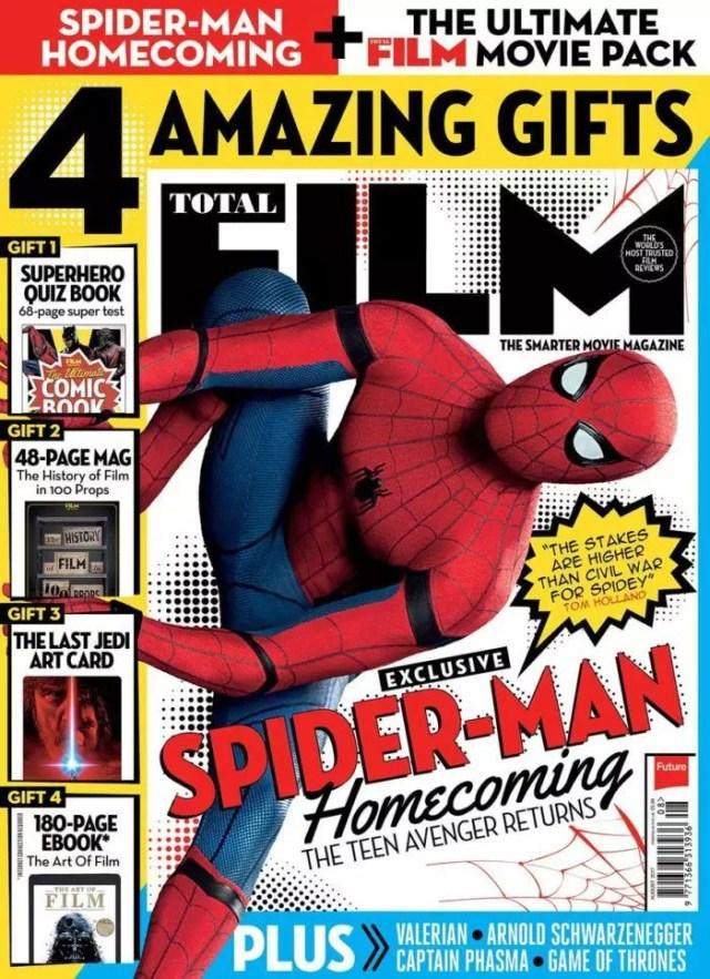 total film magazine spider-man homecoming