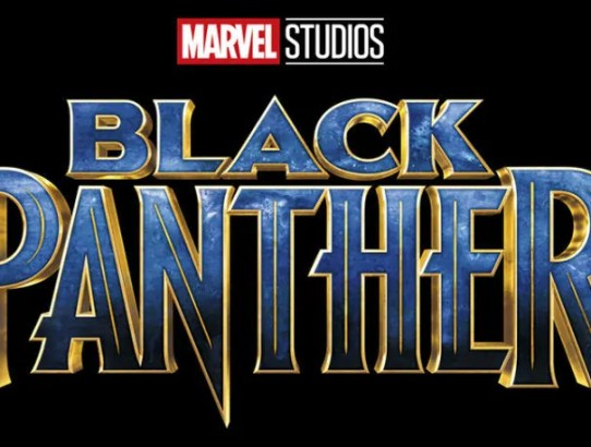 black panther logo film
