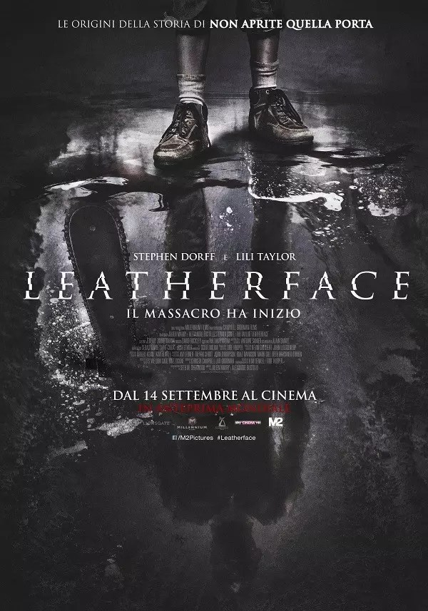 leatherface poster ita