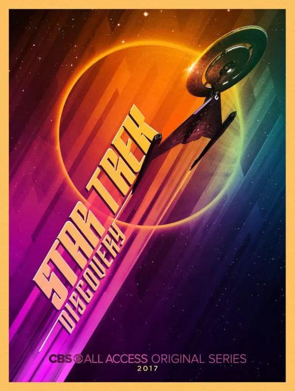 star trek discovery poster sdcc