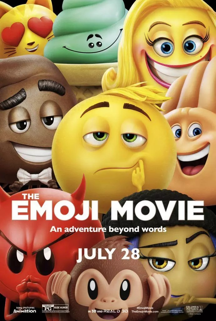 emoji cartoon poster