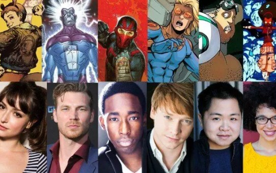 cast new warriors