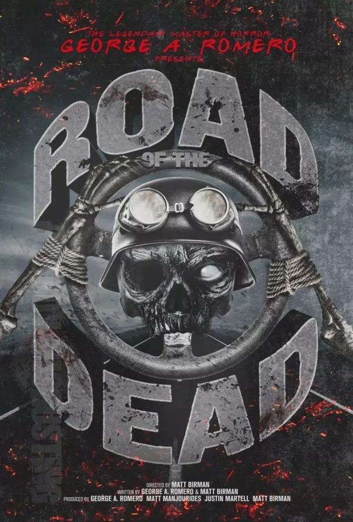 road of the road zombie poster