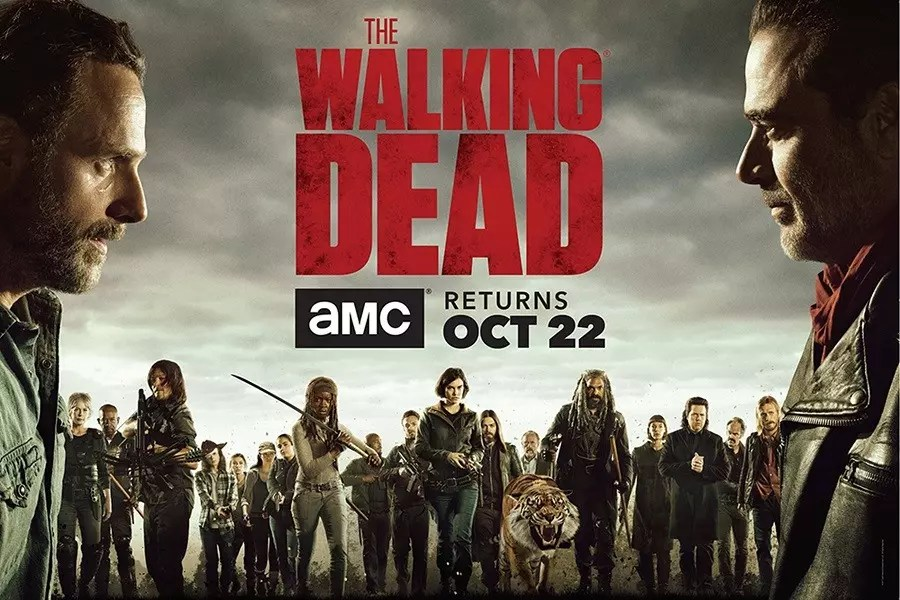 the walking dead 8 banner