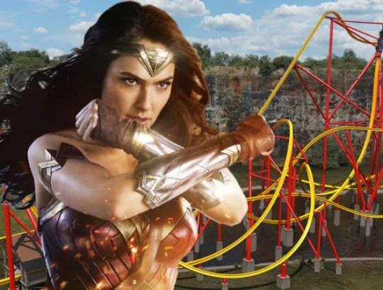 wonder woman roller coaster