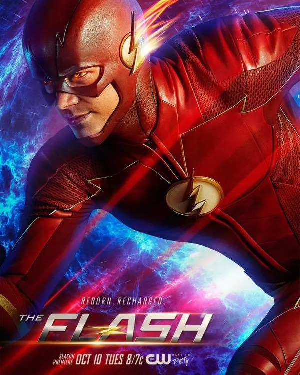 the flash 4 poster