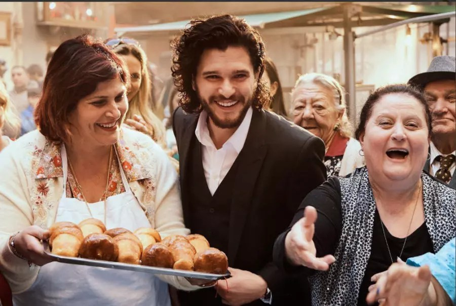 kit harington napoli