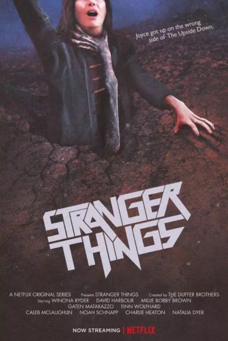 stranger things evil dead poster