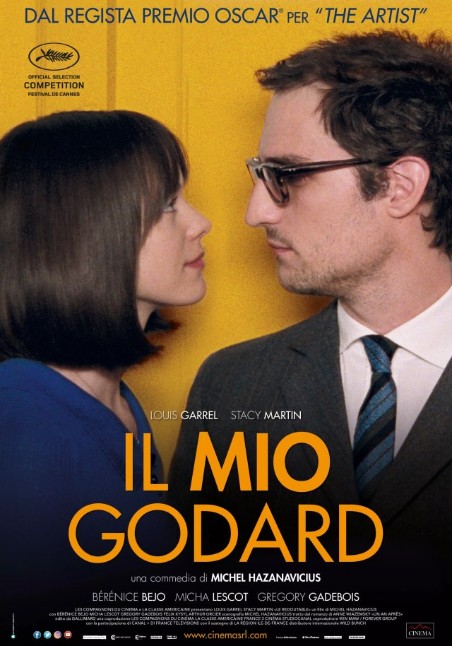 Michel Hazanavicius e Louis Garrel in Italia dal 18 ottobre per presentare Il mio Godard