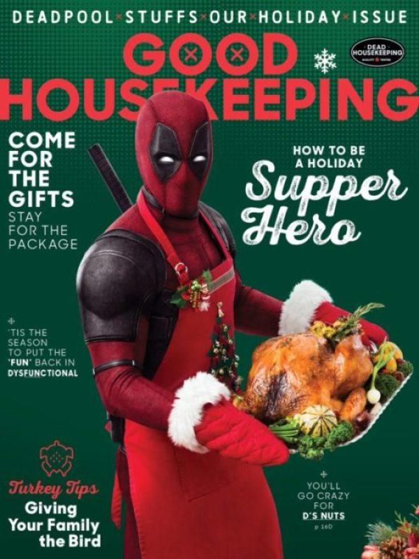 Primo poster e copertina di un magazine per Deadpool 2
