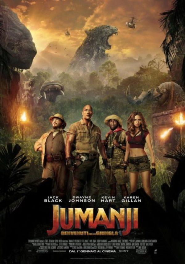 L'epico poster italiano di Jumanji - Benvenuti nella Giungla