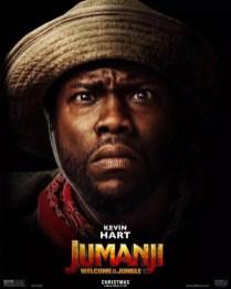 Jumanji poster Kevin Hart