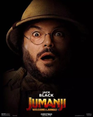 Jumanji poster Jack Black