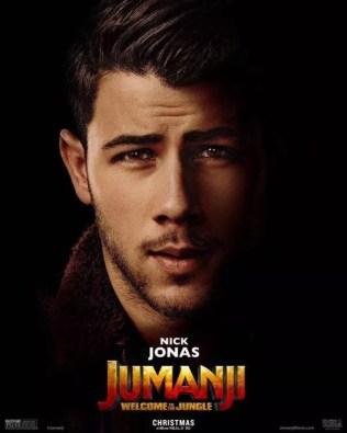 Jumanji poster Nick Jonas