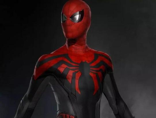 scarlet spider man concept