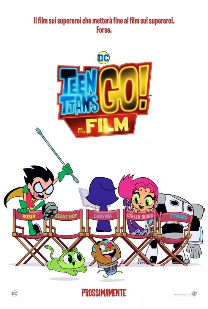 Teen Titans Go! - Il Film (Poster)