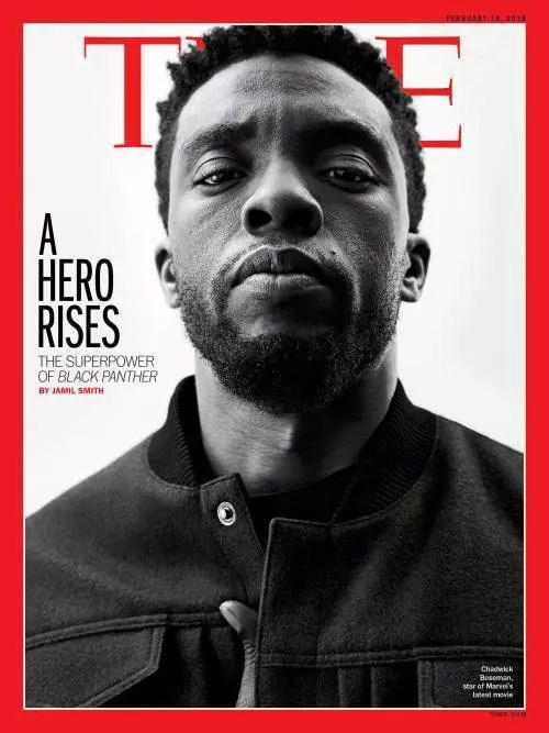 Black Panther (Chadwick Boseman) per Time