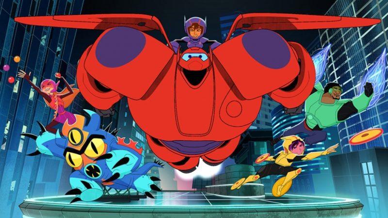 big hero 6 serie tv