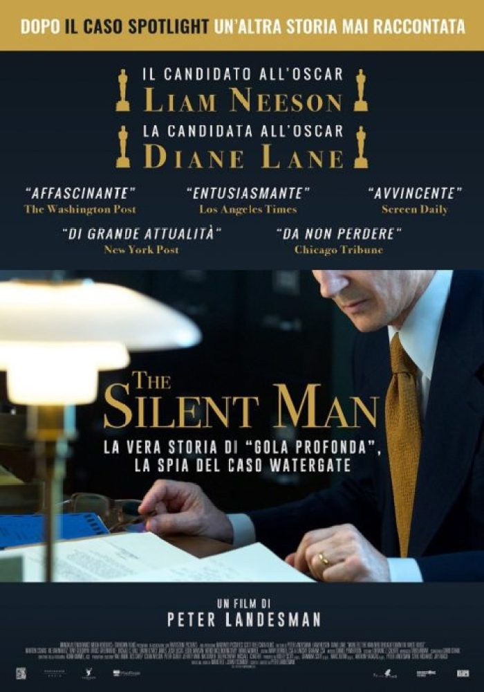 the silent man poster