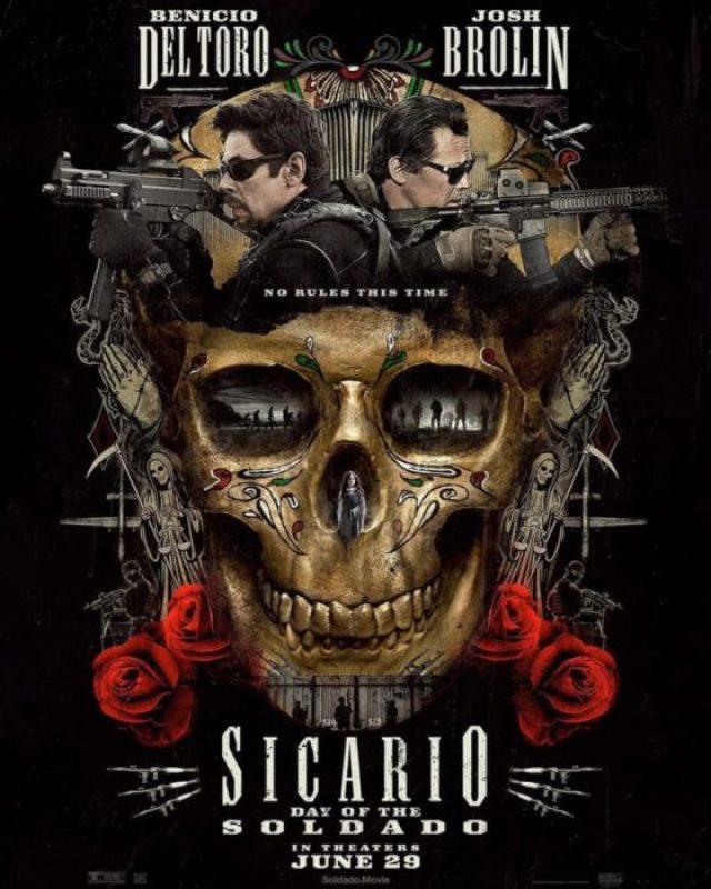sicario day of the soldado poster