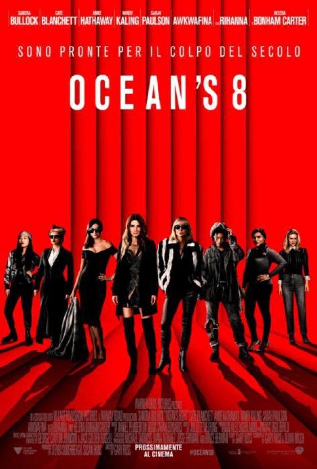 ocean's 8 poster ita