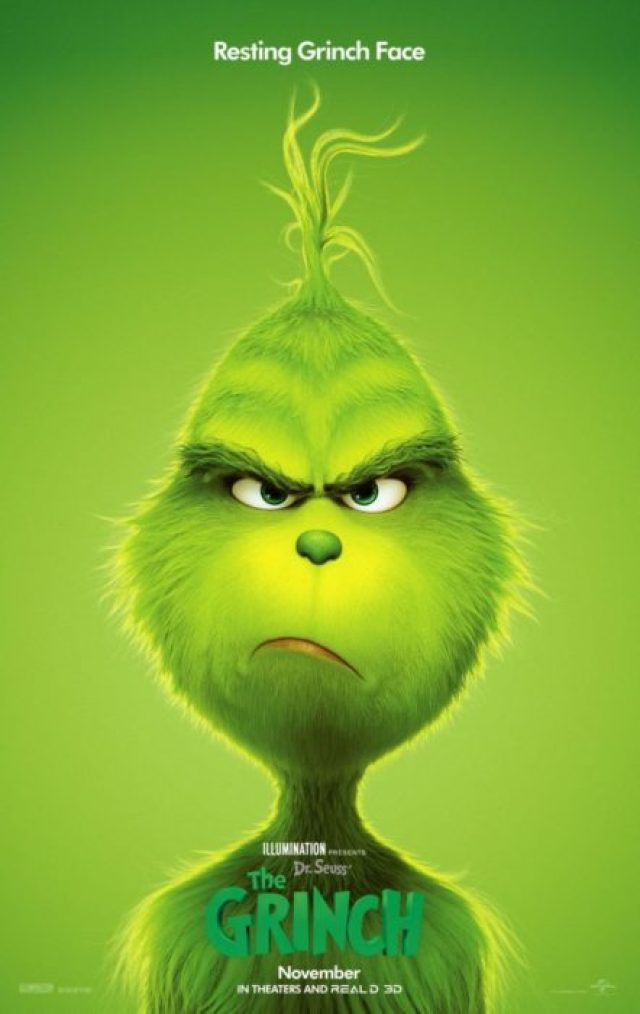 il grinch poster