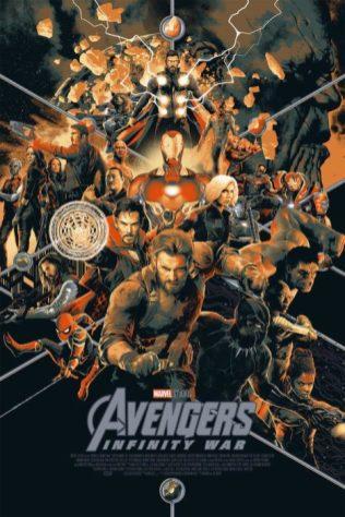 avengers 3 poster mondo 1
