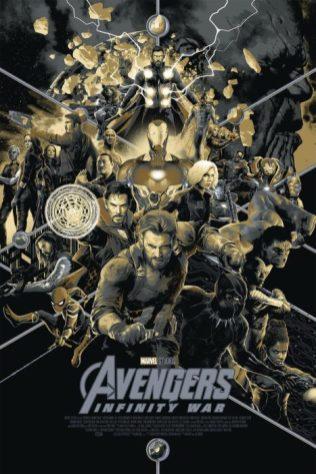 avengers 3 poster mondo 2