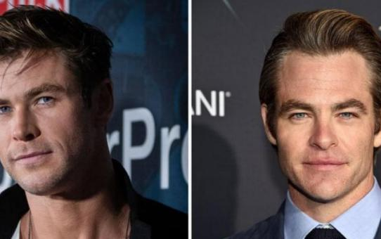 CHRIS HEMSWORTH E CHRIS PINE