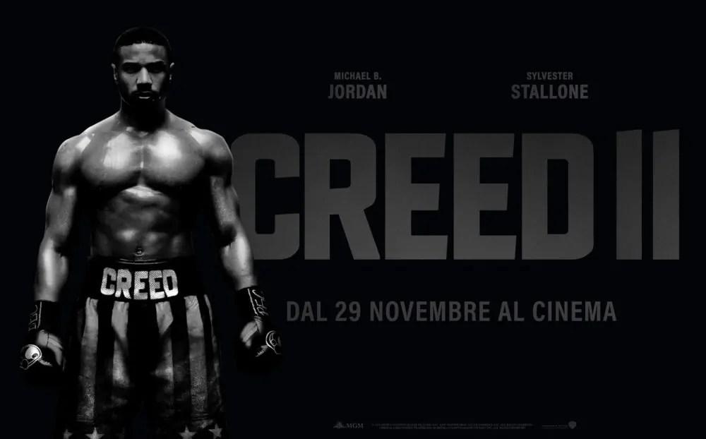 Domani il nuovo trailer di Creed II, oggi il poster con Michael B. Jordan