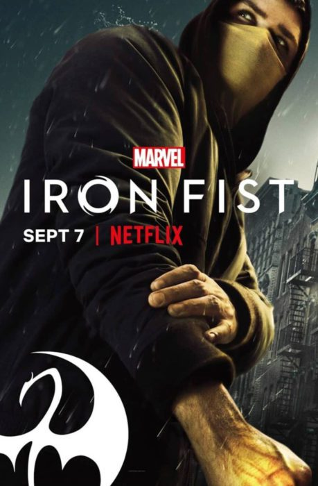 IRON FIST 2 POSTER DANNY RAND