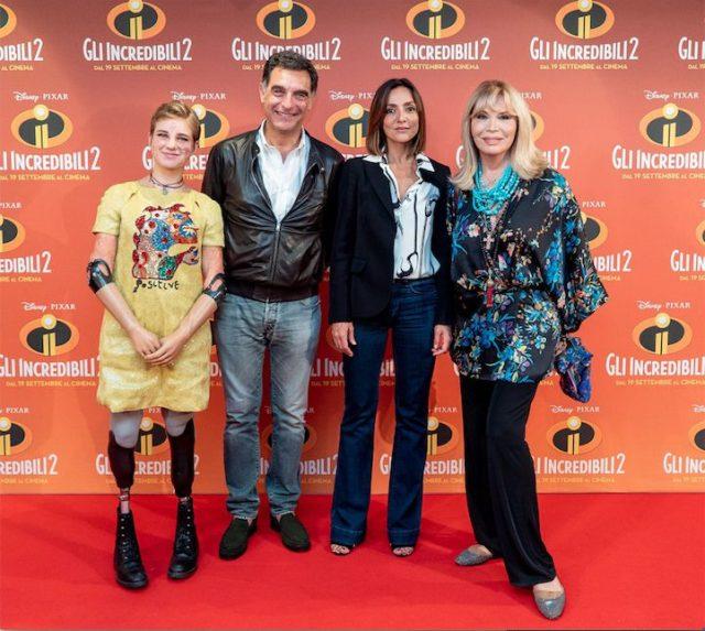 Tante stelle italiane sul red carpet dell'anteprima di Gli Incredibili 2
